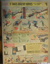 Camel Cigarette Ad: Anton Lekang 1932 Ski Champion Full Page Size ! from 1934