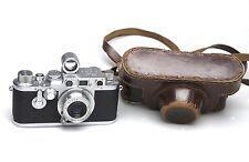 Leica IIIC + Leitz Elmar 5cm 1:3.5 + 5 cm buscador S / N 502831