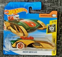 MATTEL Hot Wheels  ROCKIN' SANTA SLED  brand new sealed