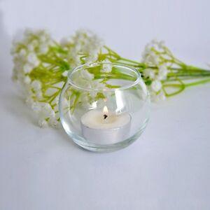 Tea light Votive Floating Candle Holder Glass Jar Pot Wedding Party