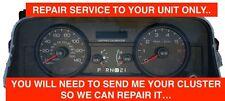 06-11 Ford Crown Victoria Speedometer Cluster Odometer Display Repair Service