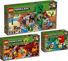 LEGO Minecraft 21155 21154 21153 Die Creeper™ Mine Die Brücke  N8/19