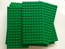 LEGO-NEW-#92438-GREEN BASEPLATE-8 X 16-2 PLATES