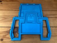 Vintage Star Wars Darth Vader Star Destroyer Rear Blue Section