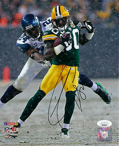 PACKERS Donald Driver signed 8x10 photo PLAYOFFS AUTO JSA COA Autographed