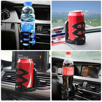 Car Van Drink Cup Holder Stand Air Vent Mount Beverage Bottle Can Cup Holder