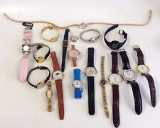 Job Lot Bundle Wrist Watches Mixed Lot Mens Womens Rotary Timex Sekonda Repairs