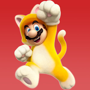 Cat Mario Amiibo COIN   Super Mario 3D World + Bowser's Fury Invincibility Bell