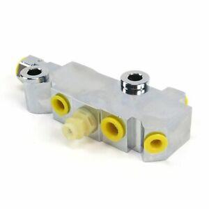 Aluminum Disc+Disc Proportioning Valve rat rods hot rods streets rods