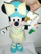 MARCH TOGA BIRTHSTONE MINNIE PLUSH DISNEY -23Cm.- Peluche Topolino Mickey Mouse