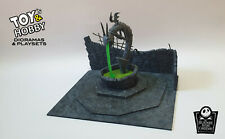 Nightmare Before Christmas - Halloween Town Square Diorama - Playset