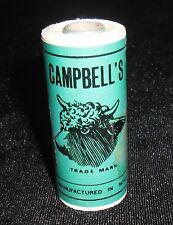 Autentico Vintage Campbells filo di lino irlandese 25 grammo Spool colore Whitey B