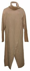 G By Giuliana Women's Sweater Petite 2XP Crossover Maxi Brown 718-485