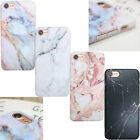 Elegant Pastel Marble Pattern Cover Case Shockproof soft For iPhone 6 6s 7 Plus