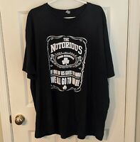 THE NOTORIOUS CONOR MCGREGOR If One Of Us Goes To War, We All Go T-Shirt Mens 4X