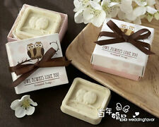 20PCS Wedding Favors Party Gifts Baby Shower Owl Soap For Guests Souvenirs
