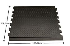 Multipurpose Rubber Heavy Duty Interlocking Middle Non Slip Doorway Hallway Mat