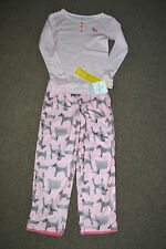 Carter's girls two piece long sleeve pajamas sz 5 NWT