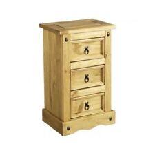 Mercers Furniture COR109 CORONA 3 Bedside Drawer - Brown