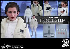 STAR WARS Ep. V Carrie Fisher Princess Leia 1/6 Action Figure Hot Toys MMS 423