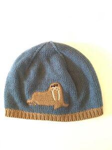 NWT GYMBOREE BOYS ARCTIC ADVENTURE WALRUS SWEATER HAT BEANIE 12-24 MONTHS