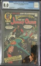 (1970) JIMMY OLSEN #134 CGC 8.0! OW/W PAGES! 1st Appearance of DARKSEID!