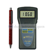 DT-2857 Photo Tachometer Surface Speed Tester Auto Meter 2.5 ~ 99,999 RPM
