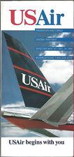 USAir system timetable 11/10/93 Buy 2 Get 1 Free