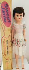 """Grocery Store 1958 Sweet Jane Doll Deluxe Reading.24"""" Mint in Box, Brochures"""
