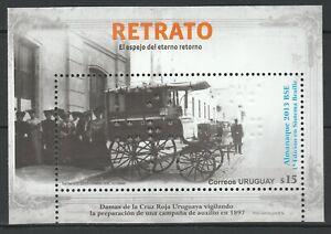 Uruguay 2013 Braille Carriage MNH Block