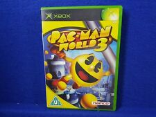 xbox PAC-MAN WORLD 3 It's Your World, Eat It! Namco PacMan PAL UK