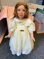 Größle Schmidt Porzellan Puppe 60 cm. Top Zustand