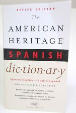 The American Heritage Spanish Dictionary Office Edition Second Edition Paperback