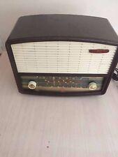 ANTIQUE COLECTABLE CAMBRIDGE PYE  VALVE RADIO COLLECTORS PIECE OR PROP HIRE