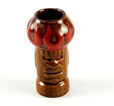 "HOTHEAD RARE TIKI FARM 2002 Vitale Shot Glass Ceramic 4"" Tiki"