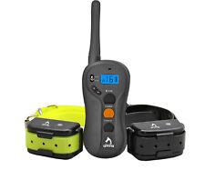 2 Collare di addestramento del cane impermeabile ed elettrico 600m a distanza