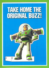 DISNEY PIXAR - TOY STORY - TAKE HOME THE ORIGINAL BUZZ - PROMOTIONAL POSTCARD