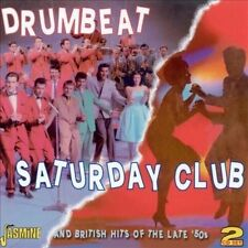 Drumbeat/Saturday Club And British Hits of the Late `50s by Various Artists (CD, Jul-2010, 2 Discs, Jasmine Records)