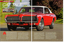 1967 MERCURY COUGAR 390/320 HP ~ NICE 5-PAGE ARTICLE / AD