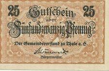 Notgeldscheine aus Sachsen-Anhalt