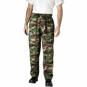 Chefwear 3500-96 Ultimate Chef Pant Camouflage all sizes XS-2XL NEW!