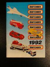Matchbox Katalog - Collectors Catalog 1992 NEU