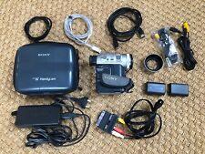 Sony DCR-PC100E Digital Camera Recorder Camcorder Handycam mit viel Zubehör