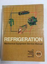 1971 Refrigeration Mechanical Equipment Original Service Manual