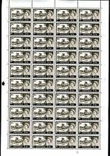 1967 Castles No Watermark Complete Sheet Set Cylinder 10, 5, 2 and 1A Sg 759-762