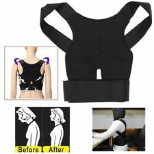 Magnet Posture Back Shoulder Corrector Support Brace Belt Therapy Adjustable New