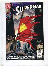 SUPERMAN #75 THE DEATH OF SUPERMAN! (9.2) 2nd PRINT 1993