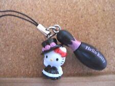 Hello Kitty X Round1 madam Charm Mascot Strap Japan New