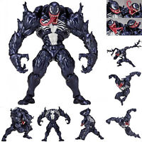 Marvel Spider-Man Venom Edward Brock Revoltech PVC Action Figure Model Kids Toys