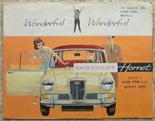 WOLSELEY HORNET MK II Car Sales Brochure c1964 NO DATE #H&E 6377